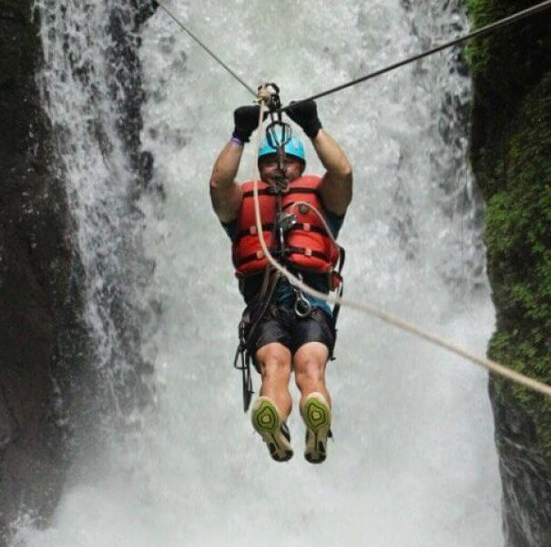 10 in 1 Waterfall Rappelling