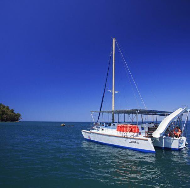 Catamaran Sunset Sails