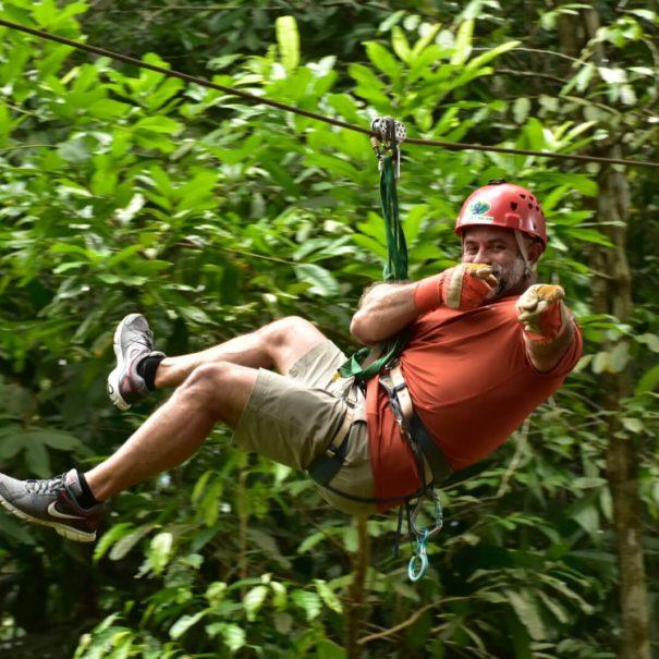 Canopy Safari Zipline