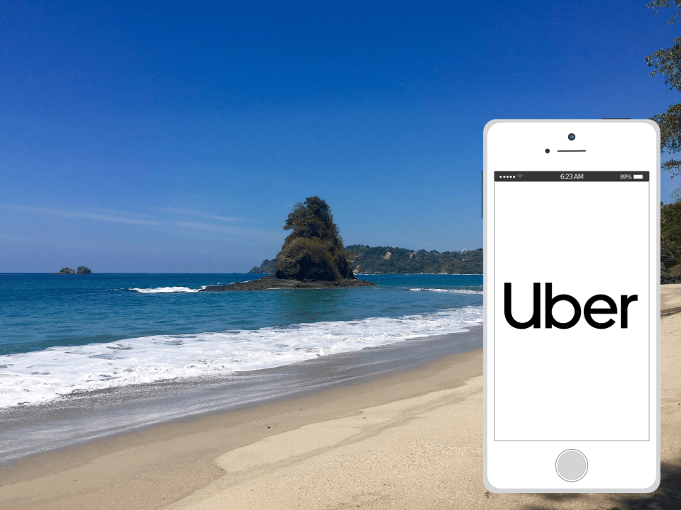 Get your Uber for the beach!