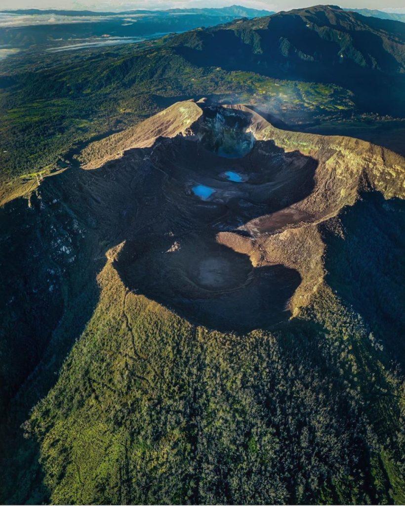 Turrialba Volcano National Park